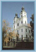The church in Frýdek Místek