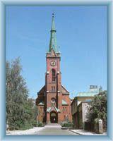 The evangelic church in Frydek