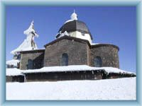 The chapel in Radhost