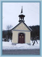 The small chapel in Velke Karlovice