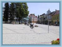 Vsetin - square