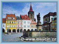 Jičín - Town-square