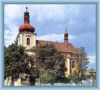 Mnichovo Hradiště - church of St. Jacob