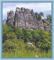 Vranov rock ridge