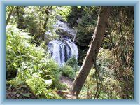 Sight of waterfall of Bílá Opava