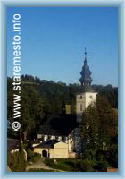 Stare Mesto pod Sneznikem - church