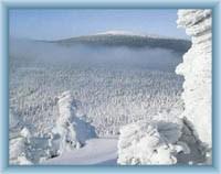 Sight of mountain Keprník