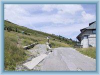 Ovčárna - road to mountain Praděd