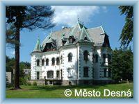 Desná - Riedl's villa