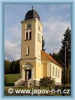 Janov nad Nisou - Church