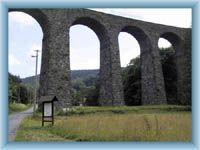 Railway viaduct in Kryštofovo Údolí