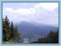 Sight from Čertova hora