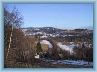 Křižlice in winter