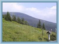 Lysá hora from Dvoračky