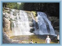 Waterfalls of Mumlava