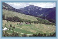 Valley Modrý důl and Sněžka