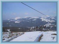 Sight from Přední Planina