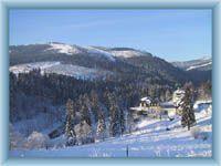 Špindlerův Mlýn in winter