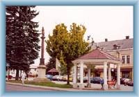 Town-quare in Vysoké nad Jizerou