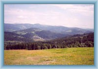 Sight from downhill route near Vysoké nad Jizerou