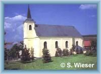 Boží Dar - church of St. Anna