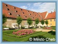 Cheb - Monastery garden