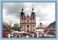 Chlum Sv. Máří - pilgrimage church