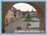 Litvínov - Town square