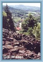 Radošov from Hradišťský hill