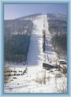 Sight of mountain Bouřňák from Mikulov