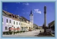 Town square in Ostrov
