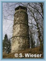 View-tower on hill Bučina