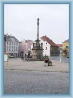 Pestilental column on town-square