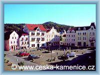 Česká Kamenice - Town square