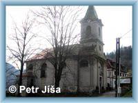 Church of Holy Trinity in Dolní Žleb