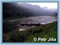 Ferry in Dolní Žleb