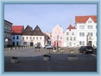 Česká Kamenice - the square