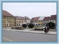 Cvikov - the square
