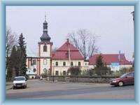 Kamenický Šenov - the church