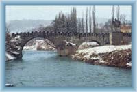 Děčín - baroque bridge
