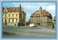The town square in Jiříkov