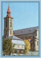 The church in Mikulášovice