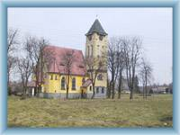 Rybniště - the church