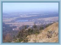 The view from Jedlová