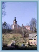 Srbská Kamenice - church