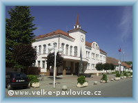 The town hall in Velké Pavlovice