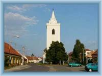 Dolní Věšonice - the centre