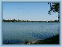 Hlohovecký lake
