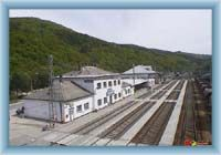 Adamov - rhe railway station