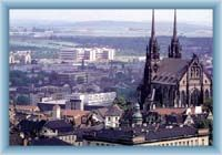 Brno - the catedrale of St. Petr and Pavel